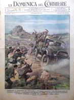 La Domenica Del Corriere 23 Gennaio 1944 WW2 Sardegna Abbazia Montecassino Radio - Guerre 1939-45