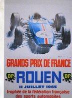 Grand Prix De France à Rouen 1965   -  Publicité  -  CPR - Grand Prix / F1
