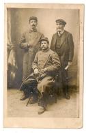 CARTE PHOTO DE 2 MILITAIRE DU 150 REGIMENT  B377 - Personajes