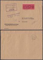 Belgique 1965 -Lettre De Dresden Vers Zittau. DDR Service (D) 3 .  Ref. (VG) DC-0345 - Belgium