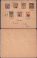 Nouvelle Caledonie 1902 - Lettre De Pouembout Vers Noumea Ref. (DE) DC-0356 - Nouvelle-Calédonie