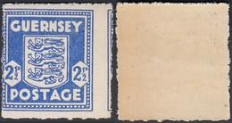 Guernsey - Occupation Allemande - Timbre Mi Nr.: 3  Ref. (DD) DC-0357 - Guernesey