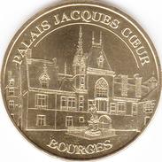 18 CHER BOURGES PALAIS JACQUES COEUR N°1 MÉDAILLE MONNAIE DE PARIS 2014 JETON MEDALS TOKEN COINS - Monnaie De Paris