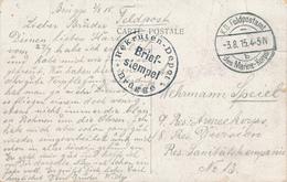 463/27 -- Carte-Vue De BRUGES Feldpostamt Des MARINE-KORPS B 1915 - Cachet Rekrutendepot BRUGGE - WW I