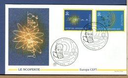 VATICANO - FDC 1994 -  LE SCOPERTE DELL'UOMO -   Ritratto Di  GALILEO  GALILEI - Astronomia