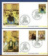 VATICANO - FDC FILAGRANO 1994 -  ARCHEOLOGIA  CRISTIANA - FDC