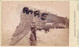 PHOTO ANCIENNE,1852,2 SCANES,ECOSSE,GRANDE BRETAGNE,ABERDEEN,EDINBURGH,CHATEAU D'EDIMBOURG,FORTERESSE,RARE - Oud (voor 1900)