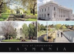 City Of Launceston Multiview, Tasmania - Unused - Lauceston