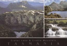 Crater Lake And Cradle Mountain, Tasmania - Unused - Wilderness