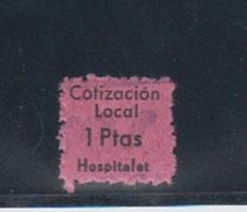 HOSPITALET (BARCELONA). EDIFIL  NO CATALOGADO. - Emisiones Repúblicanas