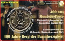 BELGIE - COINCARD 2.50 € 2018 BU - 400 ANS MONT-DE-PIETE - Belgique