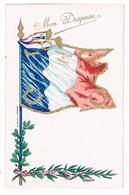 CPA : Mon Drapeau - Honneur Et Patrie - Drapeau Français - Patriotiques