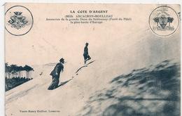 Cpa 33 Arcachon Axcension De La Grande Dune - Arcachon