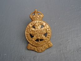 Cap Badge  14th Infantry Battalion The Royal Montreal Regiment - 1914-18