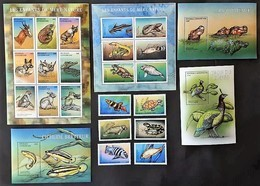 Central Africa 2001**Mi.2694-2717 Full Set (Animals) [8.32] - Timbres