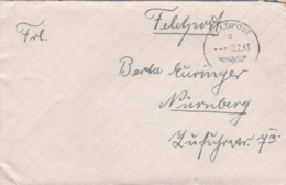 German Feldpost WW2: From The Atlantic Coast In France - Regimentsstab Infanterie-Regiment 97 - Militaria