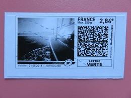 Montimbrenligne - Les Voiliers - Lettre Verte Max 250 G - 2,84 € - Sur Fragment - France