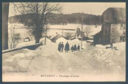 25 METABIEF Pontarlier Paysage D'hiver - Pontarlier
