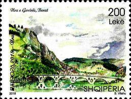 Albania Stamps 2018. CEPT Europa/Europe: Bridges. Set. MNH - Albania