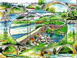 Albania Stamps 2018. CEPT Europa/Europe: Bridges. Block, Souvenir Sheet. MNH - Albania