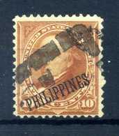 1899-1901 FILIPPINE 10c. USATO - Filippine