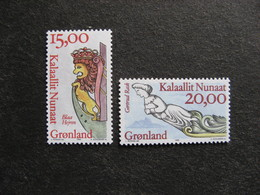 Groenland: TB Paire N° 272 Et N° 273. Neuve XX. GM. - Groenland