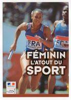 Sport--ATHLETISME -- Championnats Du Monde Junior -2000-SANTIAGO --relayeuse Française - Athlétisme