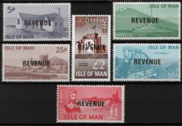 Man Fiscali Revenue II Serie **/MNH VF - Isola Di Man