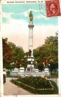 ETATS UNIS SOLDIERS MONUMENT MANCHESTER - Manchester