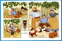 CPM Anne Odile HUET HUMEAU 332 La Cigale (enfant Couple ) - Illustrateurs & Photographes