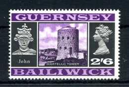 1969-70 GUERNSEY N.15 MNH - Guernesey