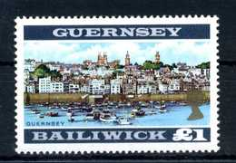 1969-70 GUERNSEY 1£ MNH - Guernesey