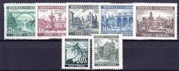 Boheme Et Moravie 1940 Mi 55-61 (Yv 43+52+56-60), (MNH)** - Unused Stamps