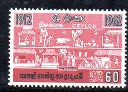 T2040 - CEYLON SRI LANKA 1963 , Yvert N. 341  ***  MNH - Sri Lanka (Ceylon) (1948-...)