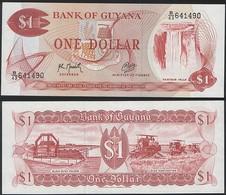 Guyana P 21 G - 1 Dollar 1992 - UNC - Guyana