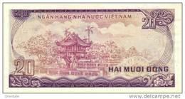 VIETNAM  P. 94a 20 D 1985 UNC - Viêt-Nam