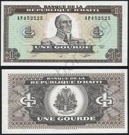 Haiti P 253 - 1 Gourde 1989 - UNC - Haiti