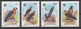 Lesotho 1986 Mi# 556-59* BIRDS - Lesotho (1966-...)