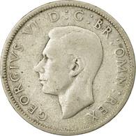 Monnaie, Grande-Bretagne, George VI, Florin, Two Shillings, 1942, TB+, Argent - 1902-1971 : Monnaies Post-Victoriennes
