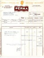 "PARIS.APPAREILS & FOURNITURES POUR ONDULATIONS INDEFRISABLES "" PERMA "" 29 Bis RUE D'ASTORG. - Chemist's (drugstore) & Perfumery"