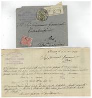 Busta Raccomandata Con Lettera Commerciale - Cremona - Calzoleria Fratelli Rossi - 1920 - Italia