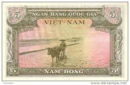 VIETNAM SOUTH  P. 2a 5 D 1955 UNC - Vietnam