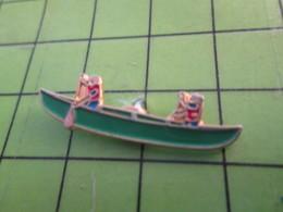 1018A Pin's Pins / Belle Qualité Et TB état !!!! : THEME SPORTS / CANOE BIPLACE - Canoeing, Kayak