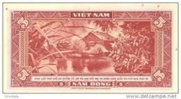 VIETNAM SOUTH P. 13a 5 D 1955 UNC - Vietnam