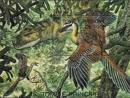 SAO TOME AND PRINCIPE 1993  Prehistoric Animals - Prehistorics