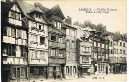 LISIEUX VIEILLES MAISONS PLACE VICTOR HUGO - Lisieux