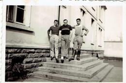Photo De Groupe Soldat 1940 Format 6/8 - Krieg, Militär