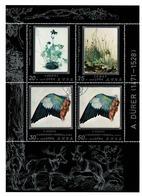N Korea 1979 - Mi Bl 1854/57  A. Dürer 1471-1528 Obl. -  Gebr. - Used - Corée Du Nord