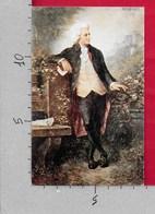 CARTOLINA NV ITALIA - W. A. Mozart In Posa - 9 X 14 - RIPRODUZIONE - Cantanti E Musicisti