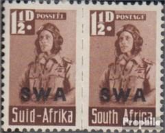 Namibia - Südwestafrika 234-235 Waagerechtes Paar Postfrisch 1942 Rüstungsbilder - South West Africa (1923-1990)